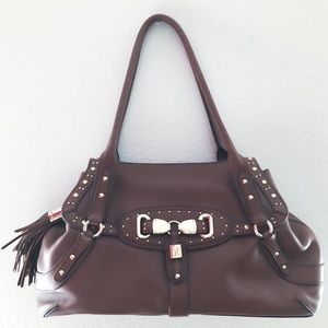Cole Haan Brown Leather Handbag